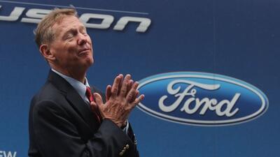 Allan Mulally fue CEO de Ford durante casi 8 años.
