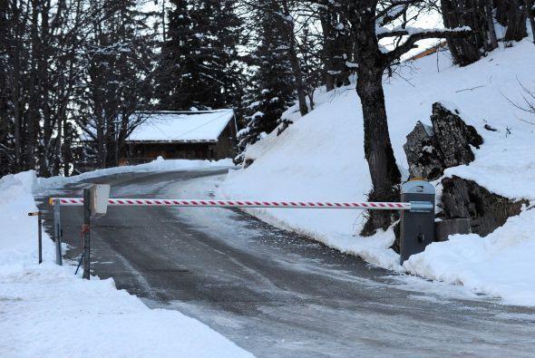 Autoridades en el centro de esquí Meribel, donde ocurrió e...