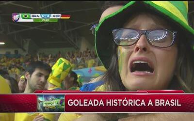Brasil sufrió la peor derrota de su historia