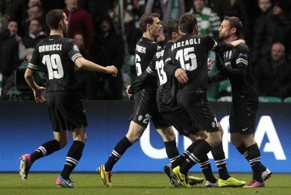 Ese gol le daba calma a la 'Vecchia Signora'.