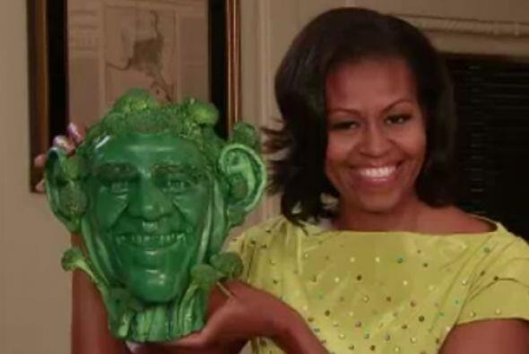 Fue en junio de 2012 cuando Michelle Obama se presentó en el programa de...