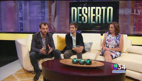 'Desierto' representará a México en los Premios de la Academia