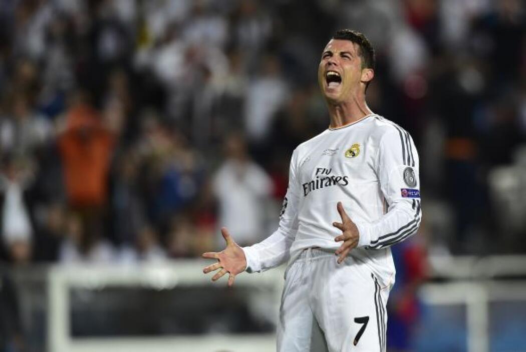 Cristiano Ronaldo explotaba de desesperación al no poder anotar el del e...