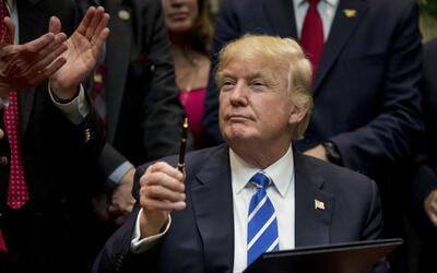 Presidente Trump firmaría nueva orden ejecutiva para modificar medidas f...