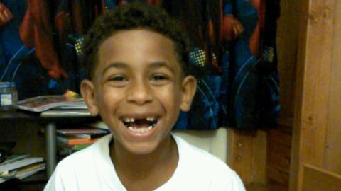 El niño de ocho años Gabriel Taye, que se suicidó d...