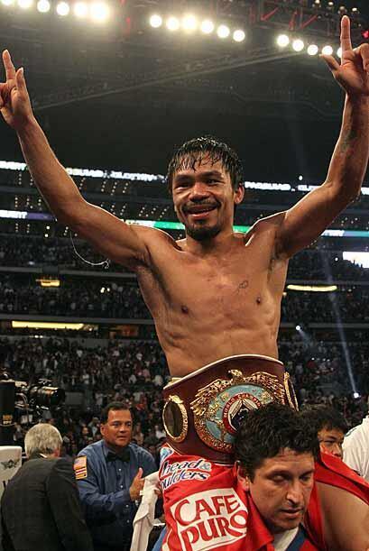 Manny Pacquiao conquistó su triunfo 51, con 38 nocauts, tres derr...