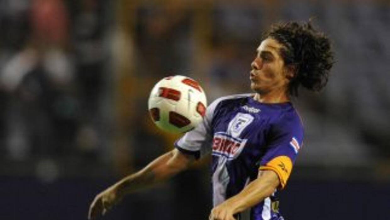 José Luis Cordero fue uno de los autores de los tres goles con el cual S...