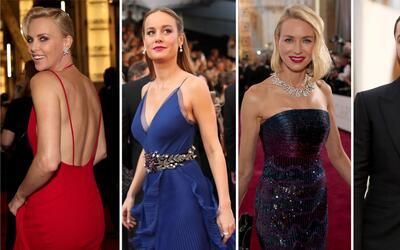 El glamour de los Oscar en 1 minuto