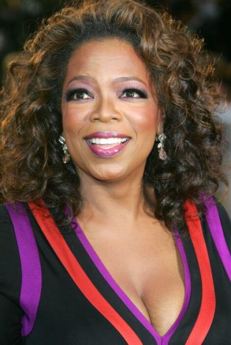 """Oprah en la fiesta de Vanity Fair tras el """"scar, el 25 de febrero de 200..."""