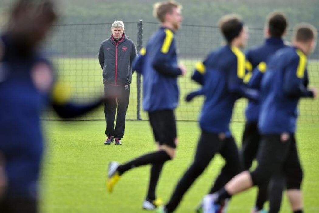 Los 'gunners' de Wenger llegan al duelo del martes tras sufrir un ko ine...
