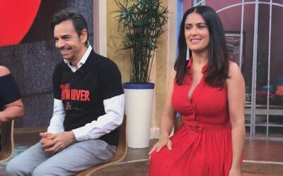 Detrás de cámaras: Cuando Eugenio no come se pone de mal humor y Salma H...