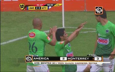 Monterrey sacó el triunfo al América
