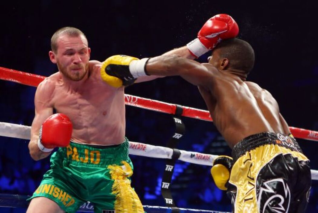El boxeo del dominicano, más depurado que el de Hyland.