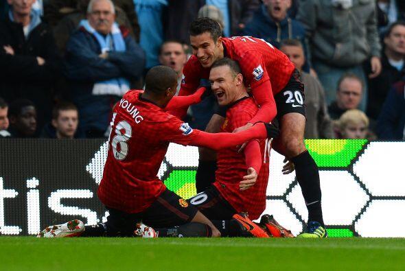 El capitán del United se quitó a varios jugadores 'Citizens' y con un di...