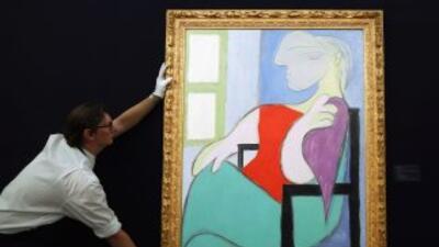 Un óleo en el que el español Pablo Picasso retrató a su musa Marie-Thérè...