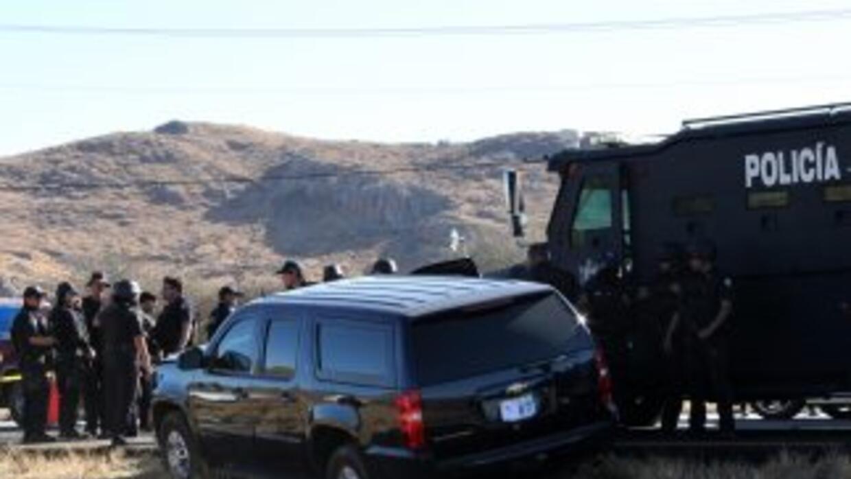 La fatal emboscada ocurrió el martes en una carretera en San Luis Potosí...