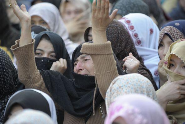 Asma Jahangir, abogada que presidió la Comisión y destacada activista, a...