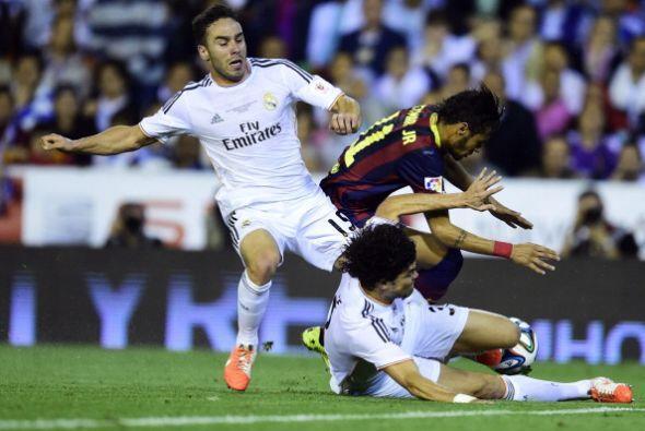 Neymar tampoco lució mucho.
