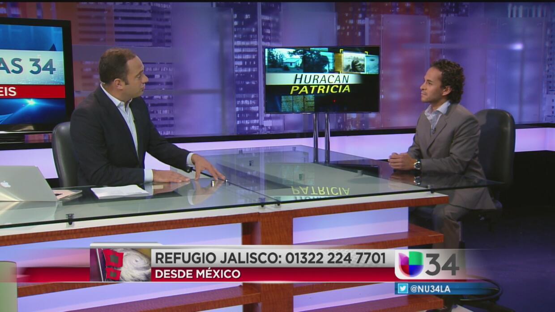 Consulado de México en Los Ángeles ofrece ayuda por el huracán Patricia...