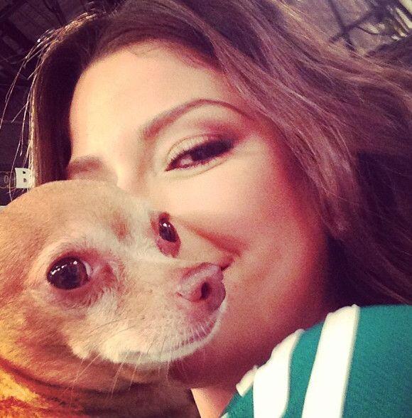 """Adoro a mi @honeyberrytv"", mostró Ana Patricia González. (Septiembre 10..."