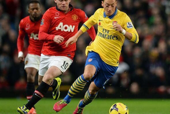 La magia de Mesut Özil no alcanzó para que Arsenal pudiera hacer algún gol.