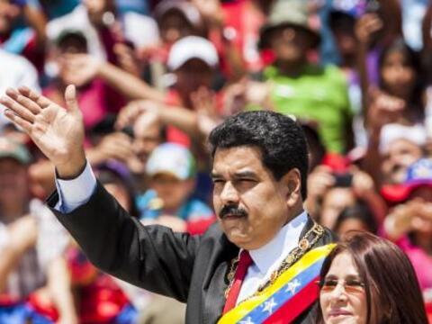 El presidente de Venezuela, Nicolás Maduro, encabezó un ac...