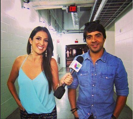 Luis Fonsi compartió con Maity su emoción de poder interpretar 'Corazón...