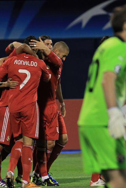 Di María marcó el único gol del encuentro y le dio...