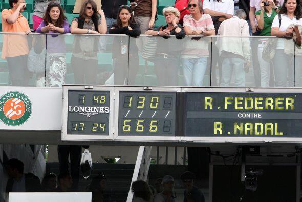 En 2008 Nadal firmó un torneo perfecto, no había cedido ningún set hasta...