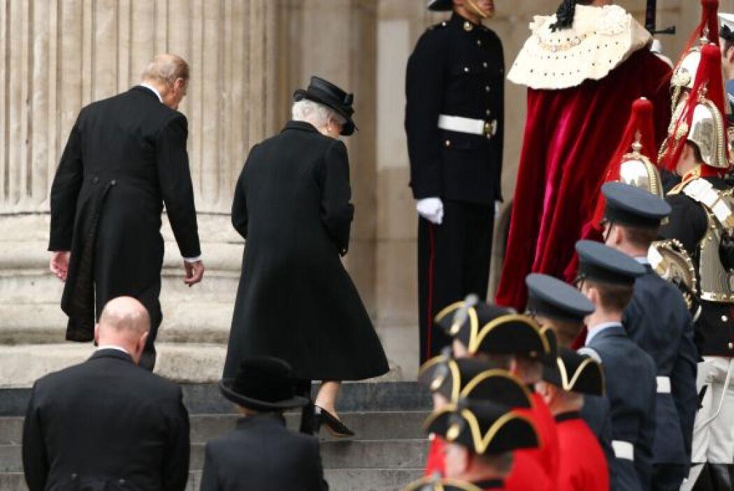 Entre los invitados a la ceremonia en la catedral de San Pablo destacó l...