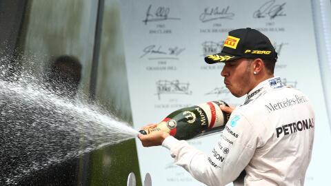 Por ahora Hamilton saca una buena tajada de puntos que le permiten m&aac...