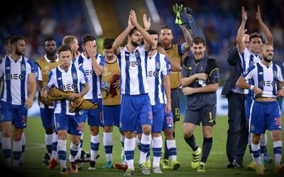 El Porto, con Herrera 'Tecatito' y Layún, avanzó en la Champions League
