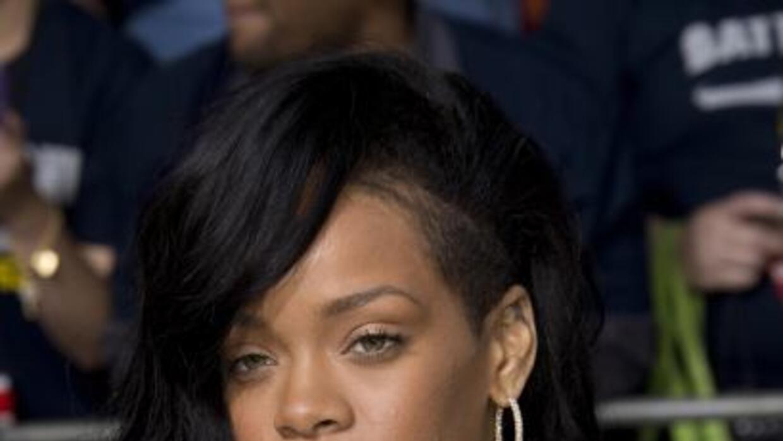 Rihanna premiere de Battleship