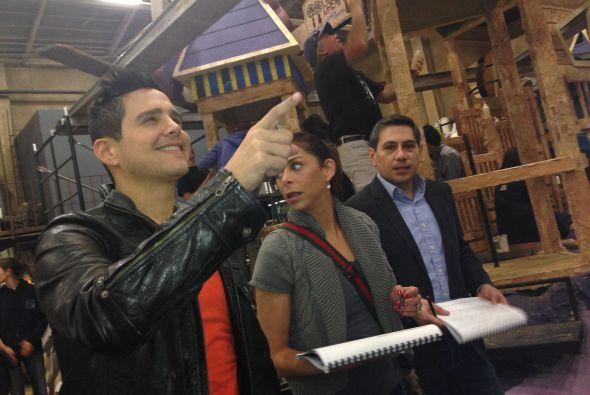 Lourdes Stefan, Alejandro Mendoza y Alejandro Chaban se preparan para la...