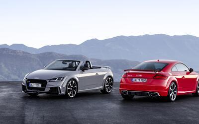 El nuevo Audi RS 2017 TT estará disponible como coupé 2+2...