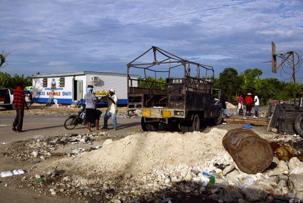 Haití que fue azotado por un terremoto en enero aún tiene...