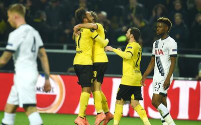 Dortmund borró a los Spurs