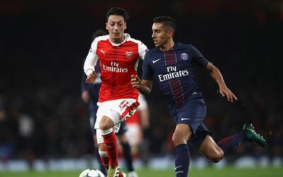 Arsenal empató 2-2 con el PSG