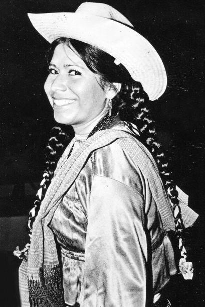 Foto de los 70s, cuando también actuaba en palenques a lo largo de la Re...