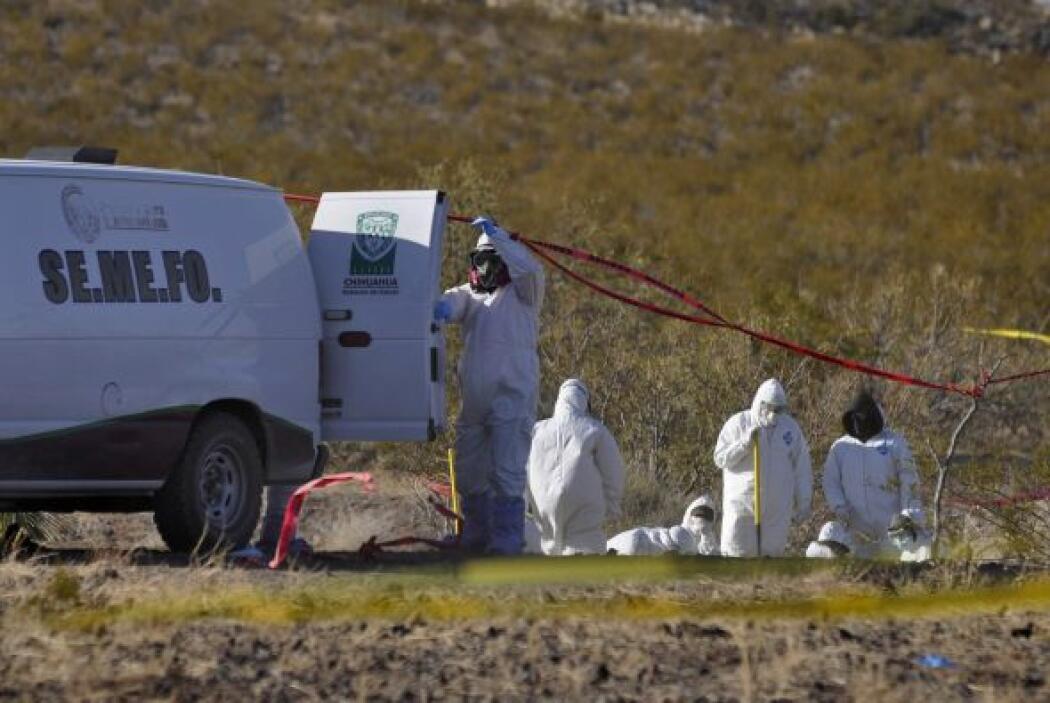 En el mismo mes autoridades mexicanas buscaban a dos policías federales...