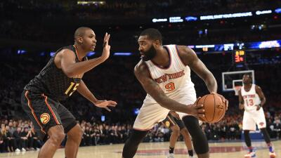 Hawks dominaron a Knicks 112-101