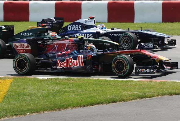 La gran decepción del GP de Montreal fue el equipo de Red-Bull que ni si...