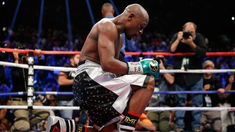 Mayweather dijo adiós al boxeo.