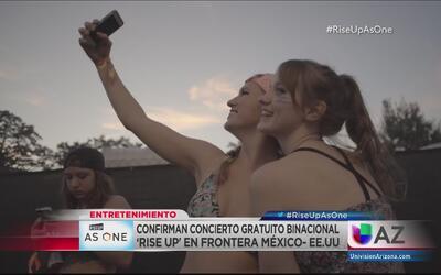 Concierto 'Rise Up As One' en la frontera entre EEUU y México