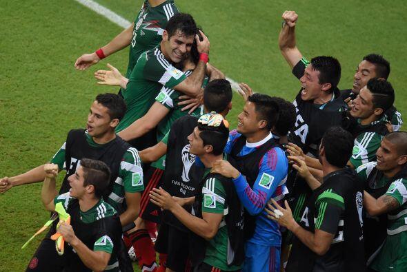 Ya en Brasil 2014, México logró avanzar a Octavos consigui...