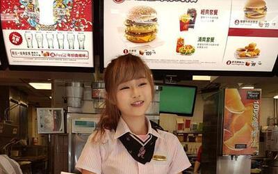 Empleada de McDonald's