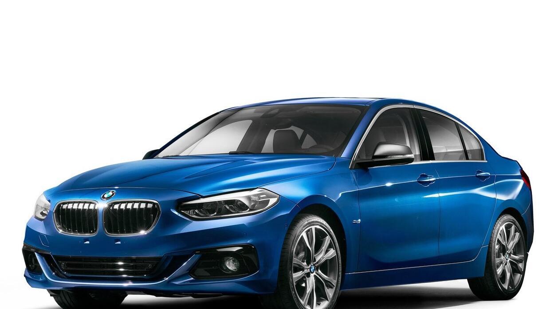 Así es la versión china del BMW 125 Sedán
