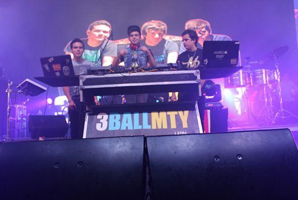 """Al ritmo de """"Inténtalo"""" y otros de sus éxitos, los chicos de 3Ball MTY p..."""