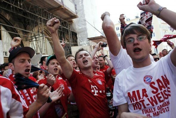 Más seguidores del Bayern de múnich
