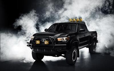 "Toyota Tacoma Concept ""Back to the Future""."